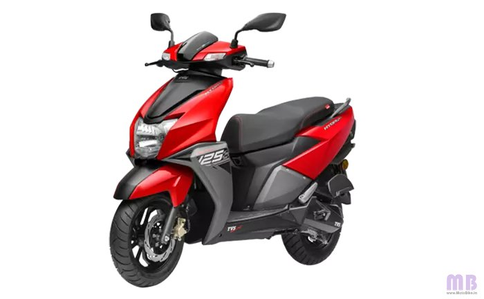TVS Ntorq 125 Metallic Red