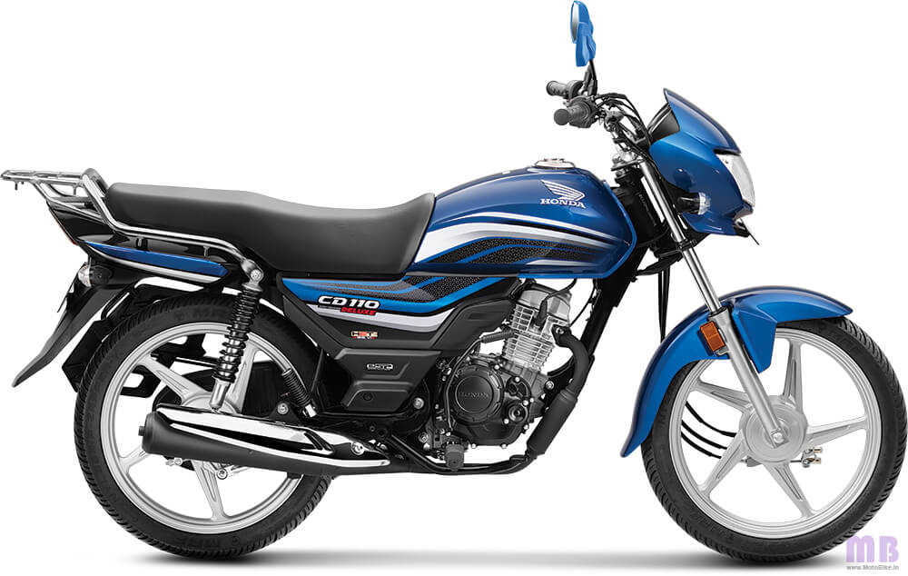 Honda CD 110-Athletic Blue Metallic-Deluxe