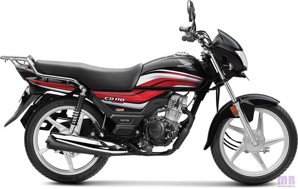 Honda CD 110-Black-Deluxe