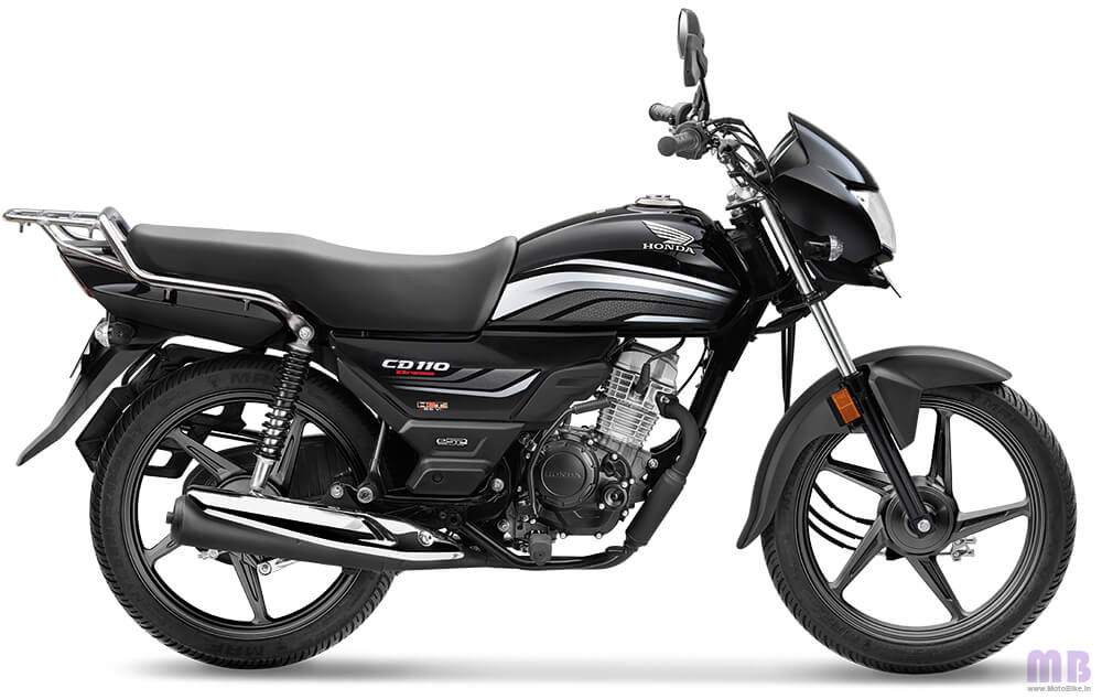 Honda CD 110-Black with Grey-Standard