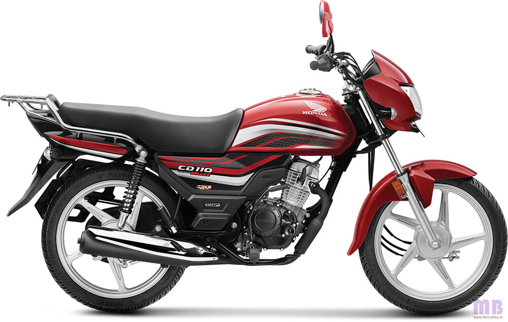 Honda CD 110 Dream BS6-Imperial Red Metallic-Deluxe