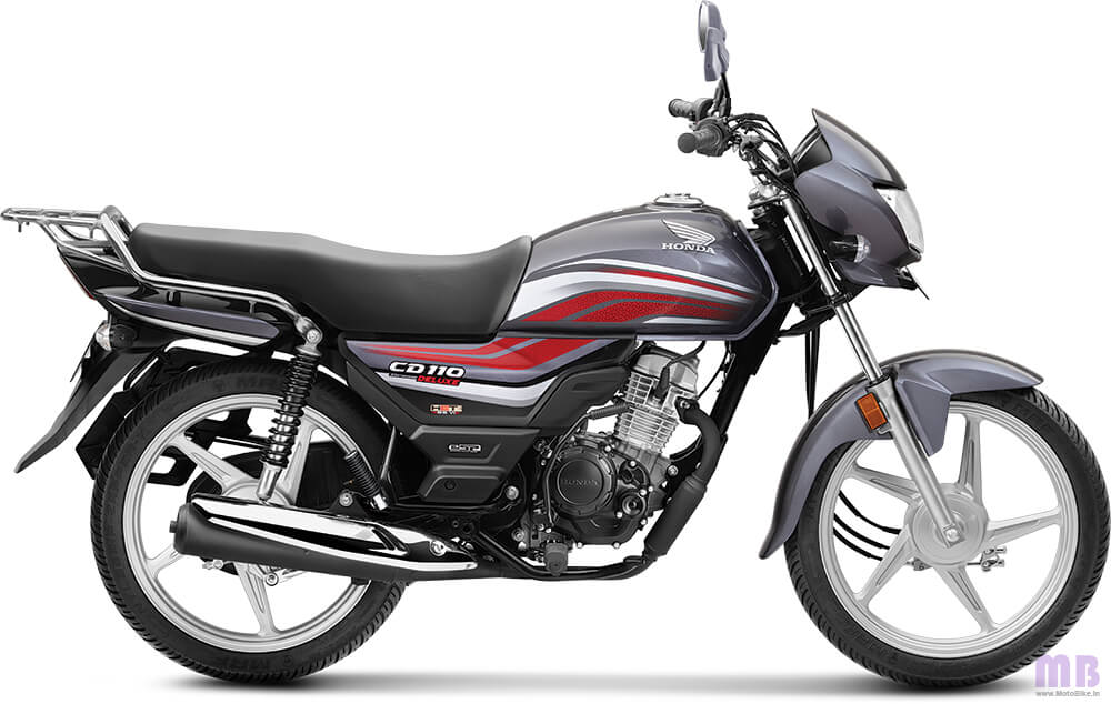 Honda CD 110-Geny Grey Metallic-Deluxe