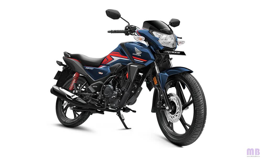 Honda SP 125 Pearl Siren Blue