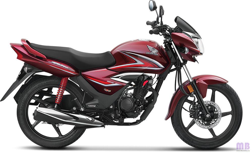 Honda Shine Rebel Red Metallic
