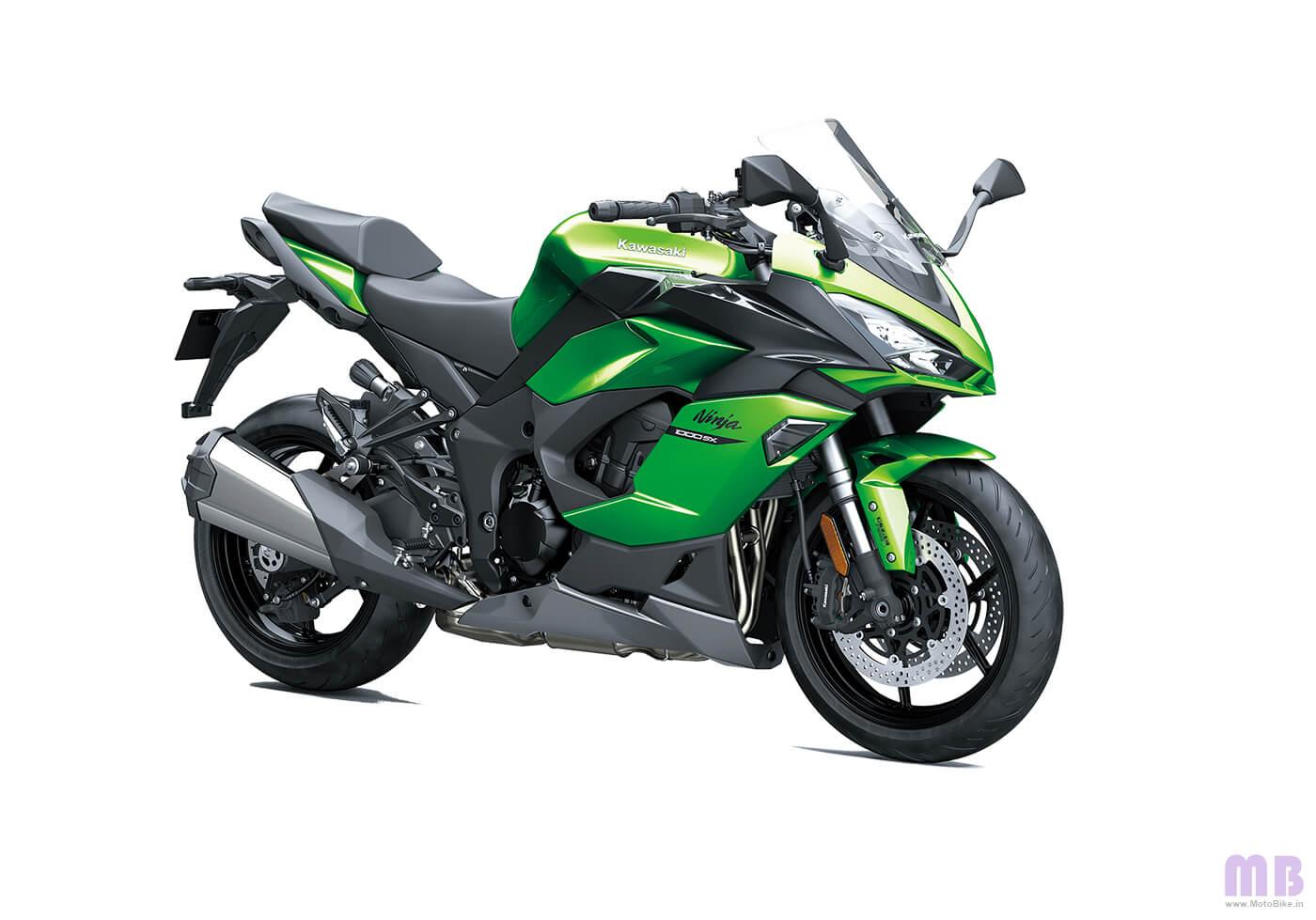 Kawasaki Ninja 1000SX - Emerald Blazed Green