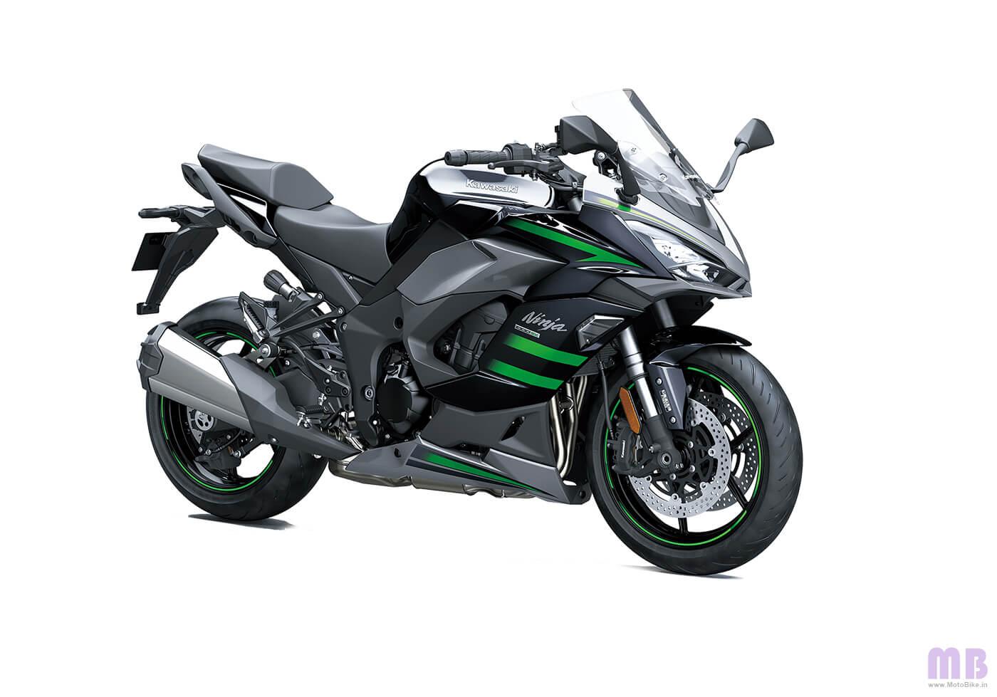 Kawasaki Ninja 1000SX - Metallic Graphite Gray