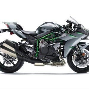 Kawasaki Ninja H2 Carbon - Mirror Coated Matte Spark Black