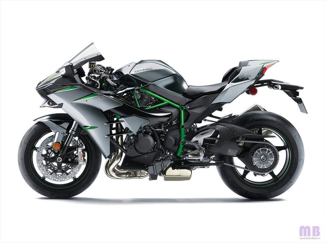 Kawasaki Ninja H2 Carbon - Side View