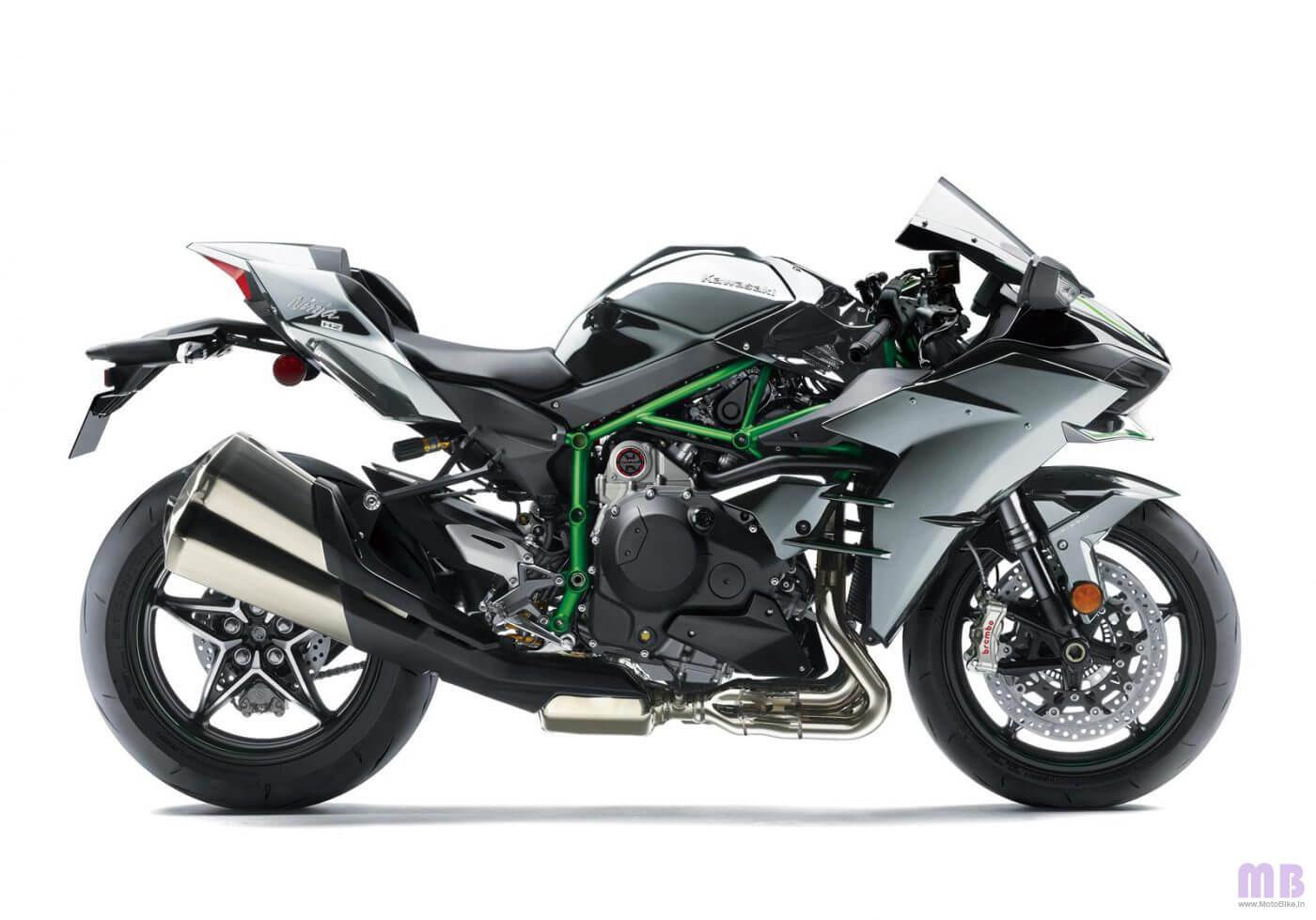 Kawasaki Ninja H2 - Mirror Coated Spark Black