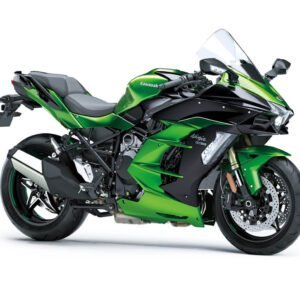Kawasaki Ninja H2 SX - Emerald Blazed Green Metallic Diablo Black