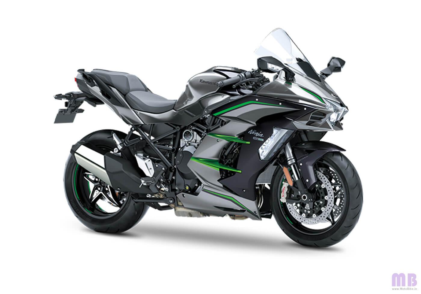 Kawasaki Ninja H2 SX SE - Metallic Graphite Gray
