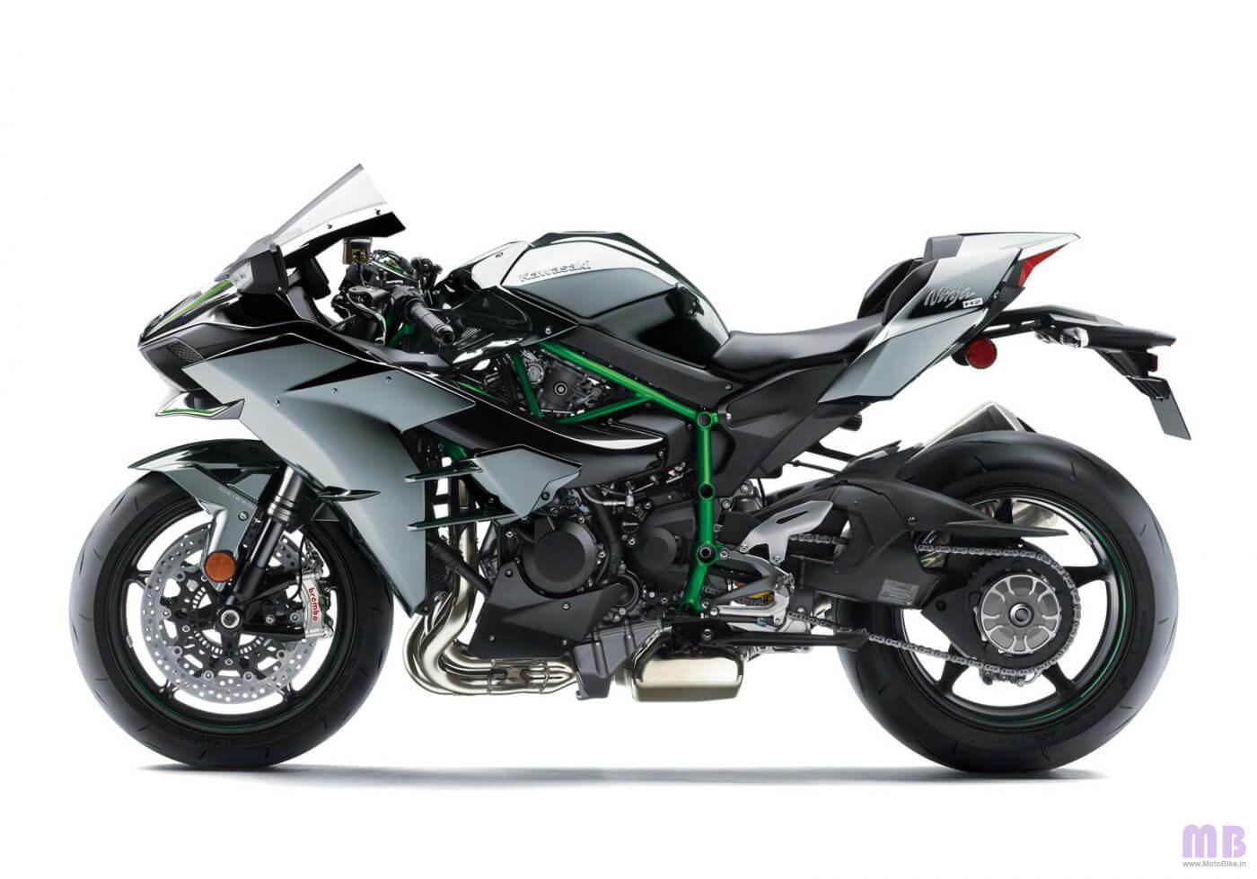 Kawasaki Ninja H2 Side View