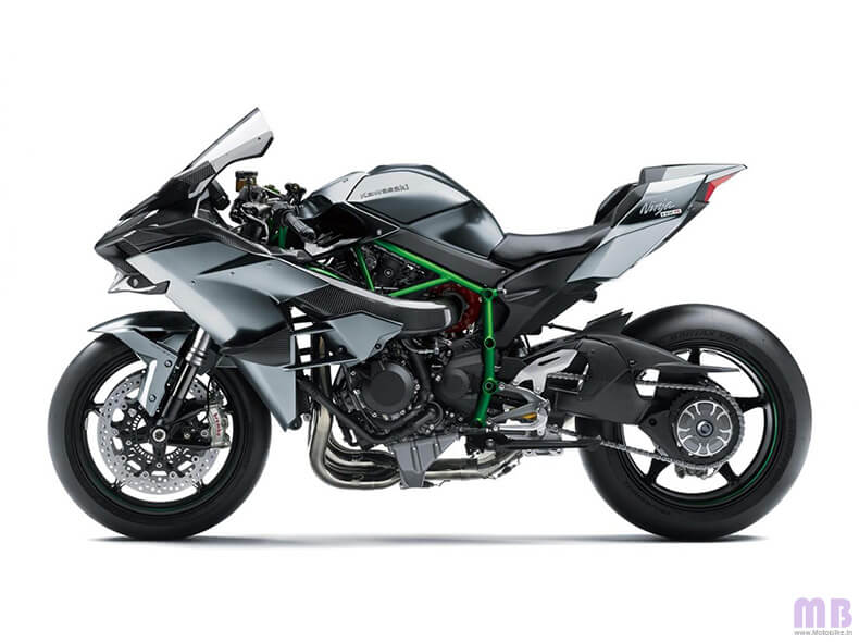 Kawasaki Ninja H2R Side View