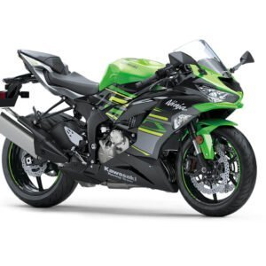 Kawasaki Ninja ZX-6R - Lime Green Ebony and Metallic Graphite Grey