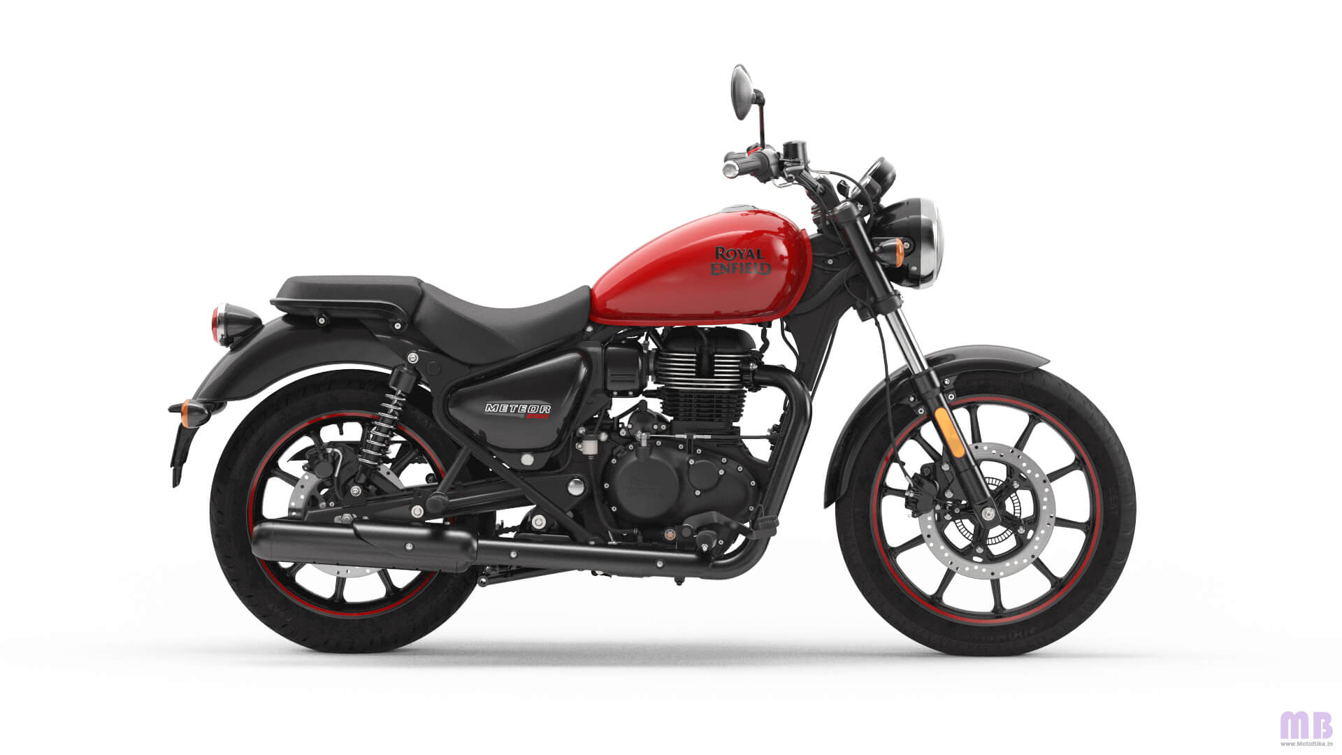 Royal Enfield Meteor 350 - Fireball Red