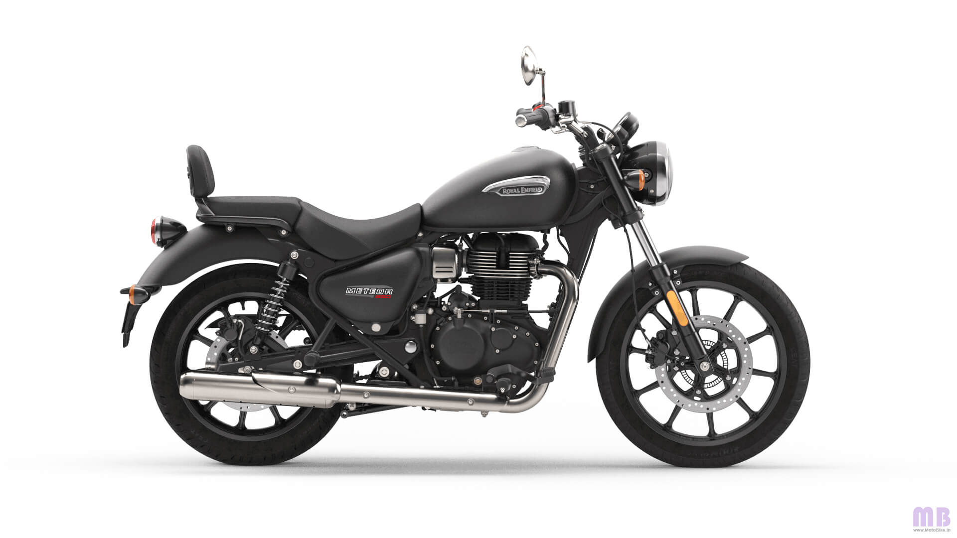 Royal Enfield Meteor 350 - Stellar Black