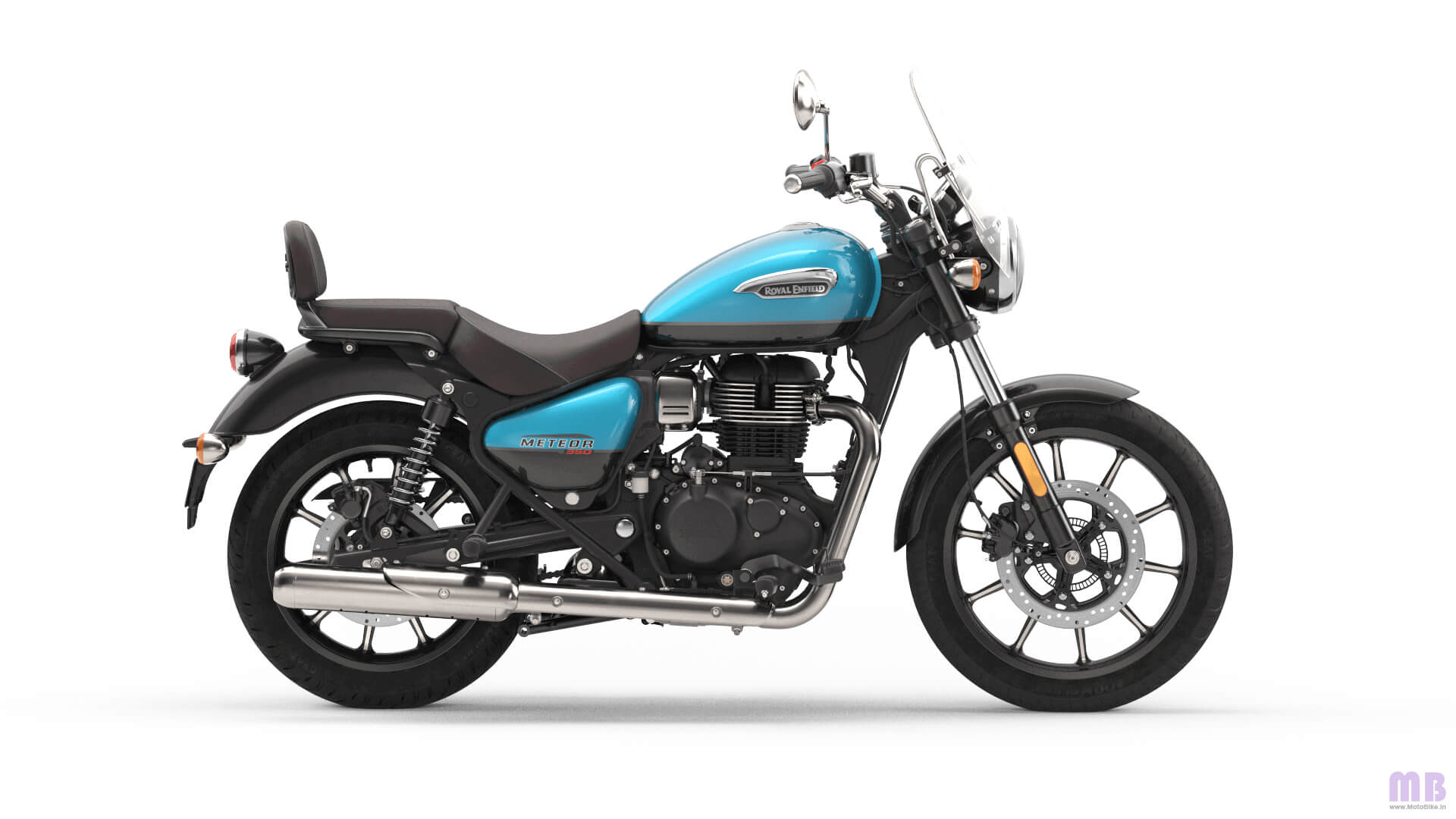 Royal Enfield Meteor 350 - Supernova Blue