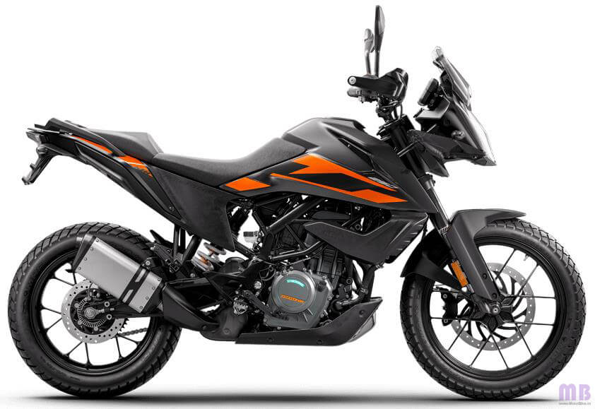 KTM 250 Adventure BS6 - Black