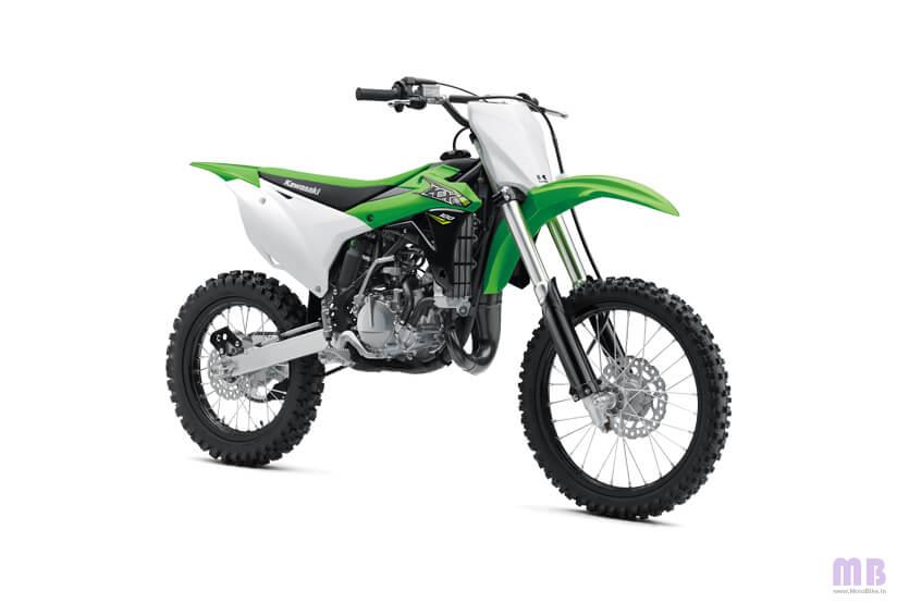 Kawasaki KX 100 - Green