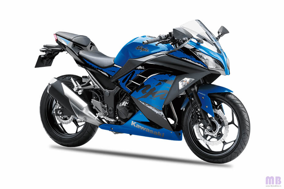 Kawasaki Ninja 300 - Candy Plasma Blue