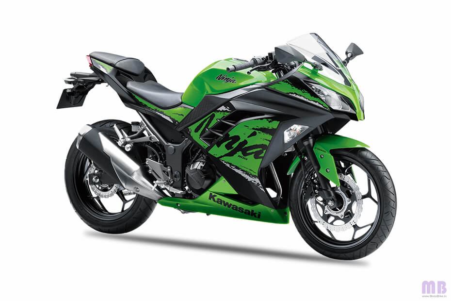 Kawasaki Ninja 300 - Lime Green Ebony