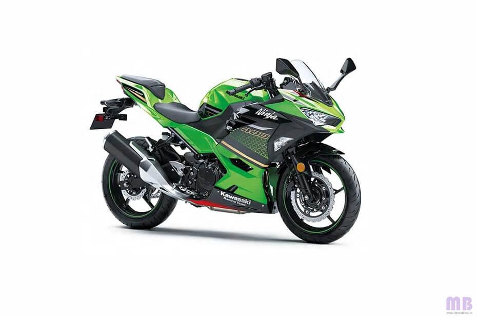 Kawasaki Ninja 400 - Lime Green