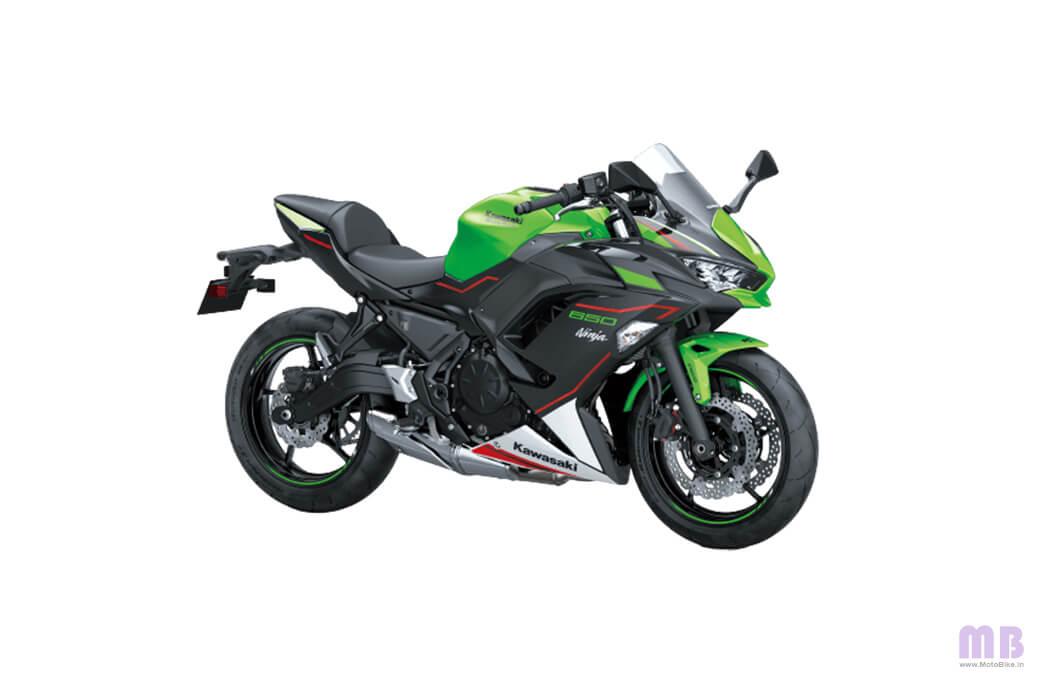 Kawasaki Ninja 650 BS6 - Lime Green