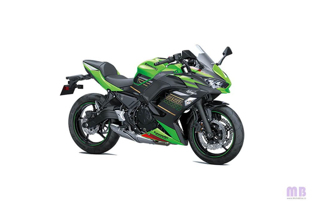 Kawasaki Ninja 650 - Lime Green Ebony