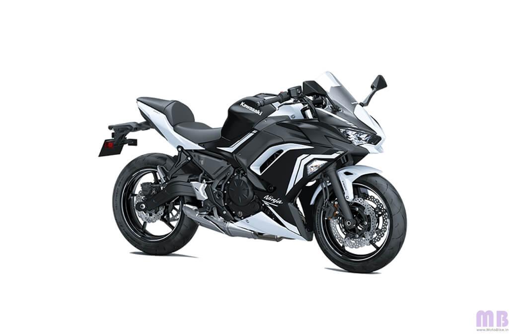 Kawasaki Ninja 650 - Pearl Flat Stardust White