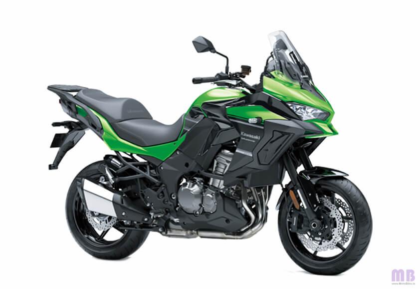 Kawasaki Versys 1000 BS6 - Candy Lime Green/Metallic Spark Black