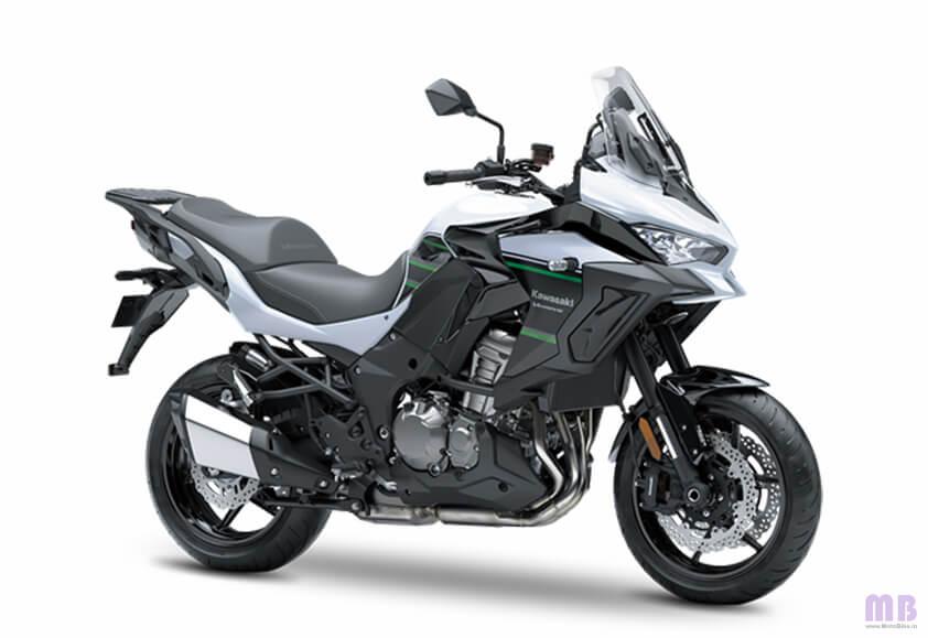 Kawasaki Versys 1000 - Pearl Stardust White/Metallic Spark Black