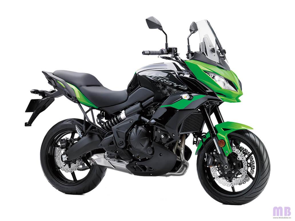 Kawasaki Versys 650 BS6 - Candy Lime Green