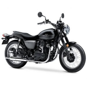 Kawasaki W800 - Metallic Flat Spark Black/Metallic Matt Grey