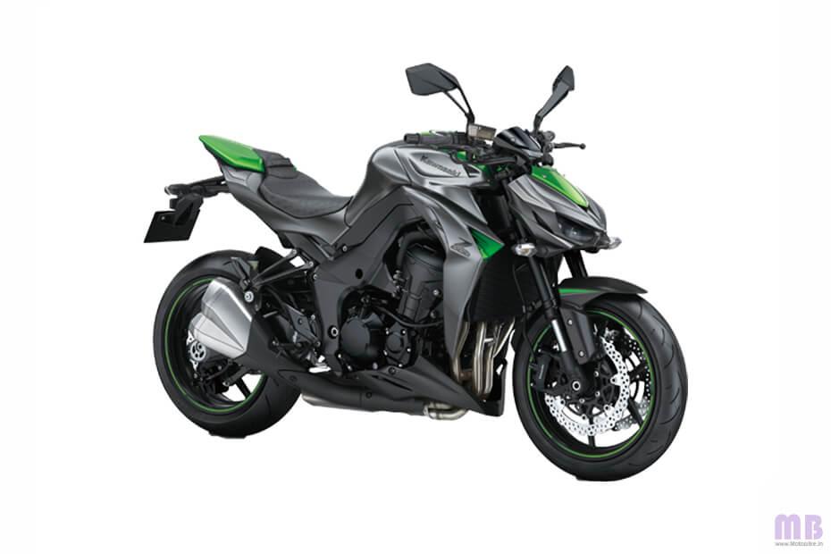 Kawasaki Z1000 - Green