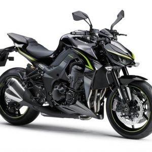 Kawasaki Z1000R - Carbon Gray Metallic Spark Black
