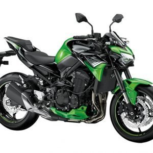 Kawasaki Z900 BS6 - Candy Lime Green