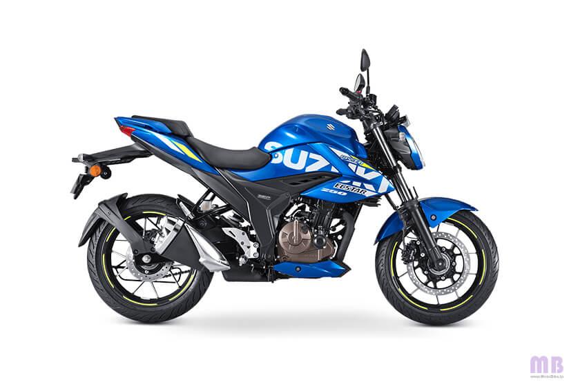 Suzuki Gixxer 250 BS6 - Metallic Triton Blue