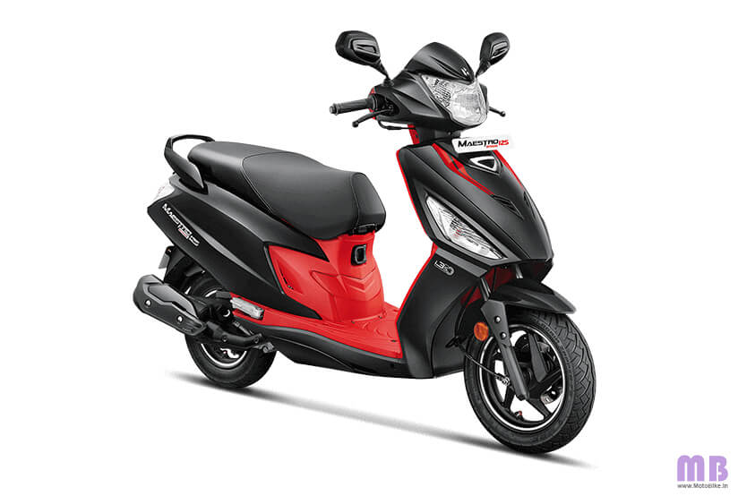 Hero Maestro Edge 125 BS6 - Panther Black