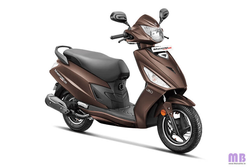 Hero Maestro Edge 125 - Matte Brown