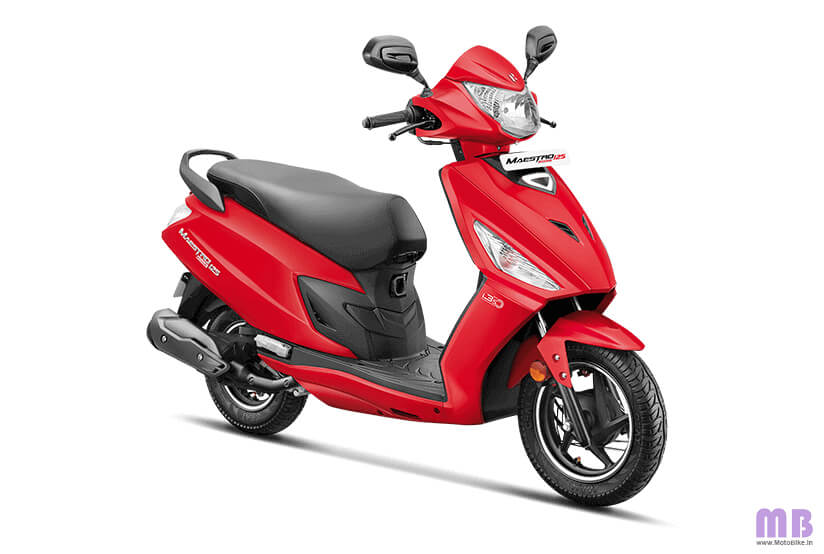Hero Maestro Edge 125 - Matte Red