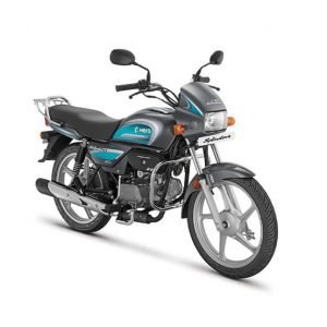 Hero Splendor Plus BS6 - Heavy Grey with Green