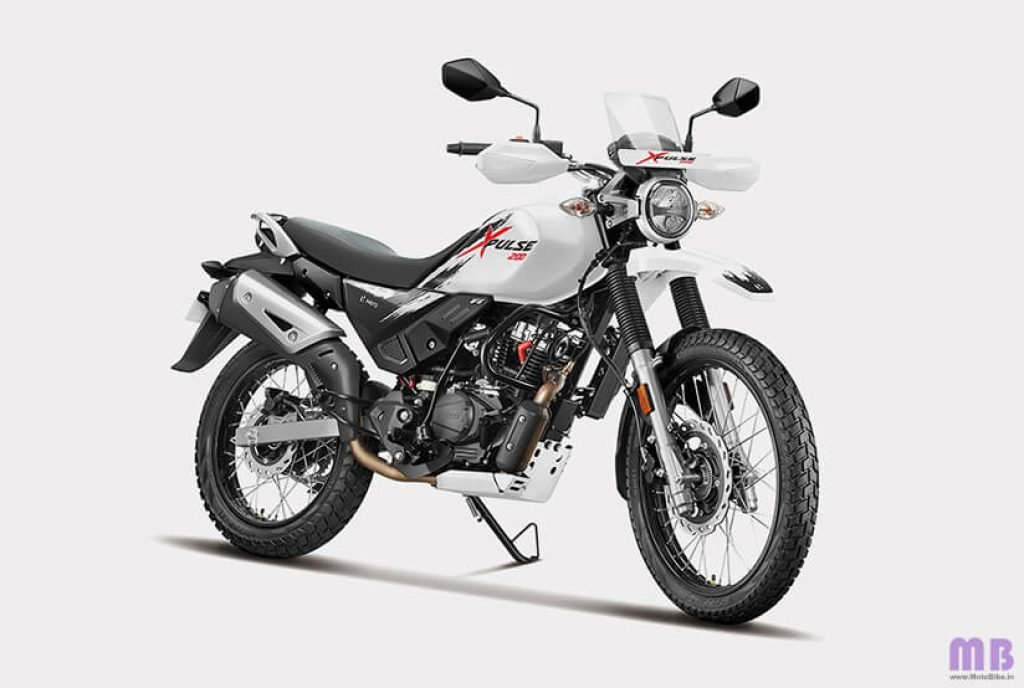 Hero Xpulse 200 BS6 - Pearl Fadeless White