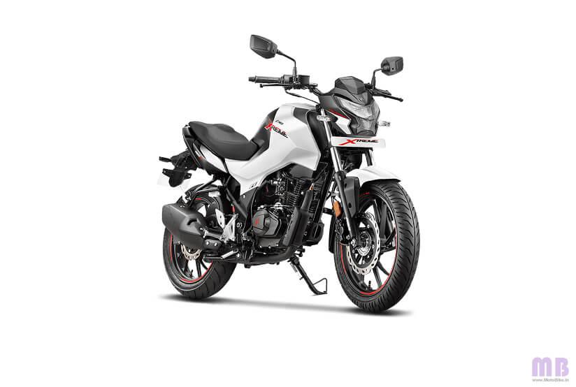 Hero Xtreme 160R - Pearl Silver White