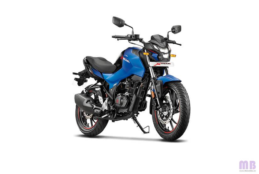 Hero Xtreme 160R - Vibrant Blue
