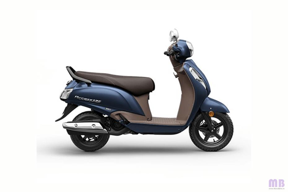 Suzuki Access 125 - Matte Blue