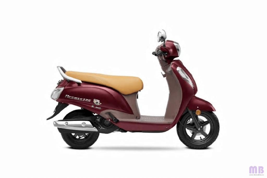 Suzuki Access 125 - Metallic Matte Bordeaux Red