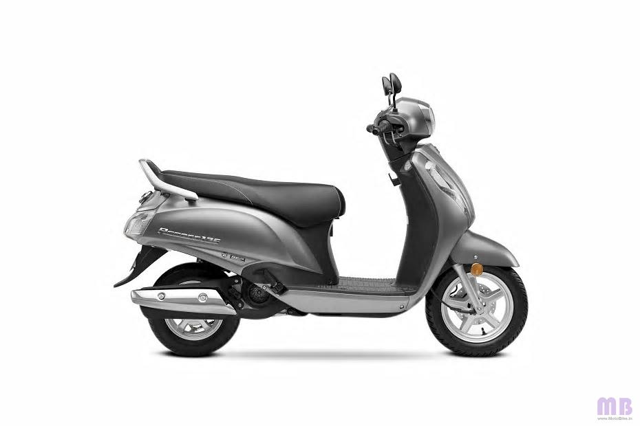 Suzuki Access 125 - Metallic Matte Fibroin Gray