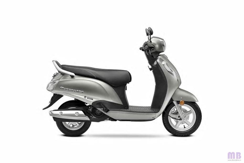 Suzuki Access 125 - Metallic Matte Platinum Silver