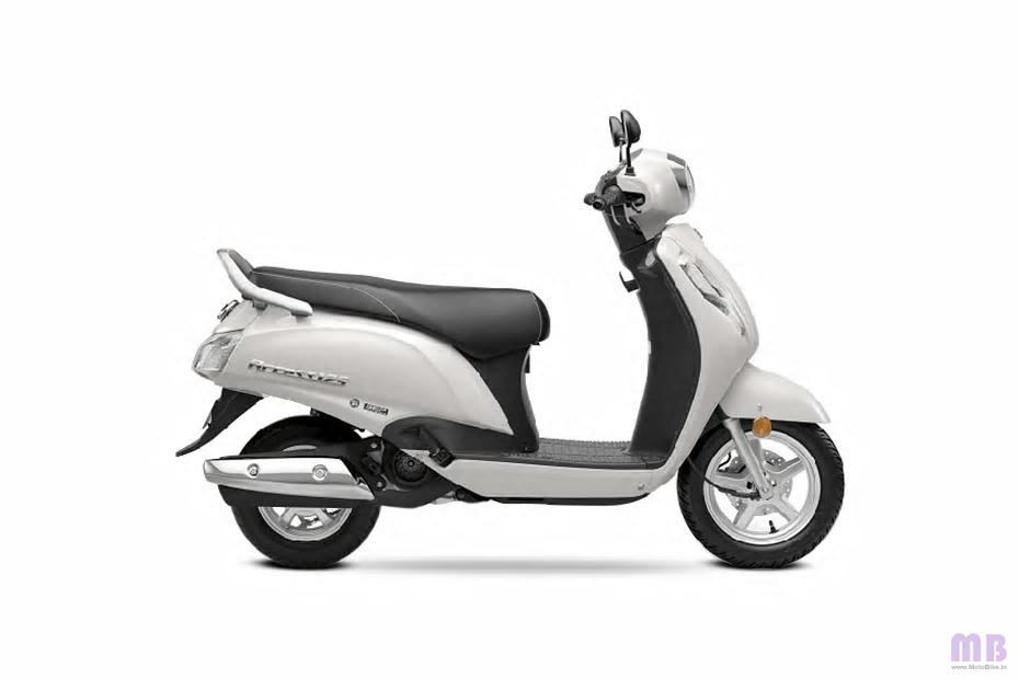 Suzuki Access 125 - Pearl Mirage White
