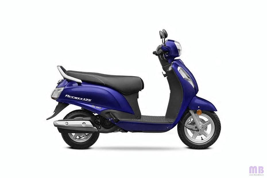 Suzuki Access 125 - Pearl Suzuki Deep Blue